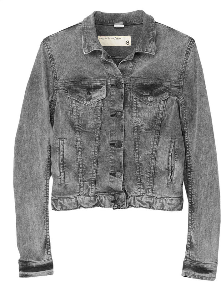 Yes, you can absolutely wear this acid-washed jacket without looking like Kelly Kapowski — just pair it with a printed dress or shorts for a cool modern feel. Rag & Bone The Jean Jacket ($253)