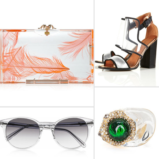 Clear and Perspex Accessories For Spring 2012