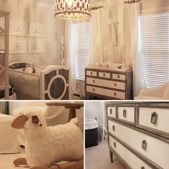 Piper's Soothing White and Gray Nursery