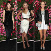Alexa Chung, Lily Donaldson, Poppy Delevingne at Tribeca Chanel Dinner