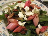 What to Make: Rhubarb Goat Cheese Salad
