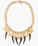 Fallon Bijan Long Horn Necklace ($225)