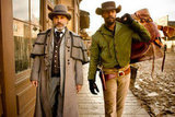 Christoph Waltz as Dr. King Schultz and Jamie Foxx as Django in Django Unchained. Photos courtesy of The Weinstein Co.