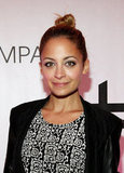 Nicole Richie posed at a National Jean Company event.