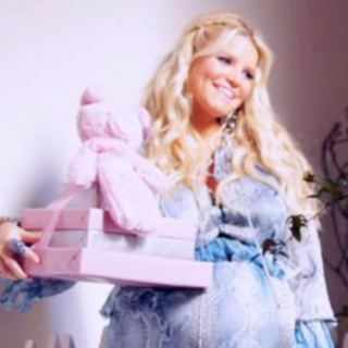 Jessica Simpson Baby Shower Video