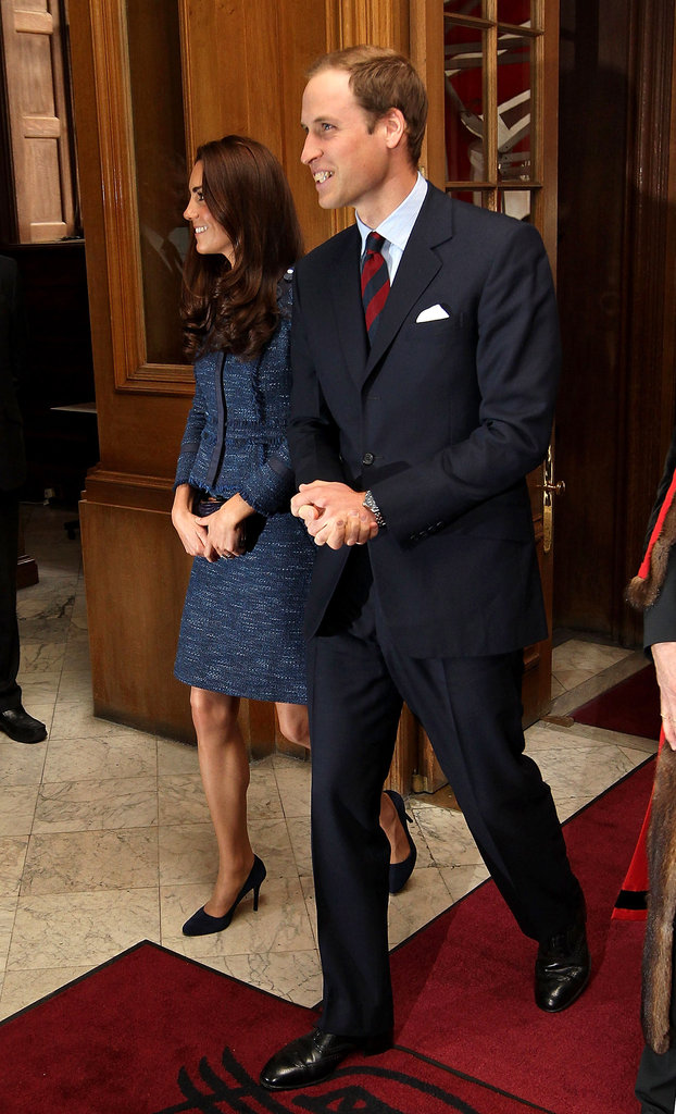 Kate Middleton and Prince William together in London.
