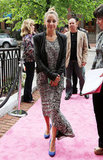 Nicole Richie Brings Her Fashionable Flair to Boston