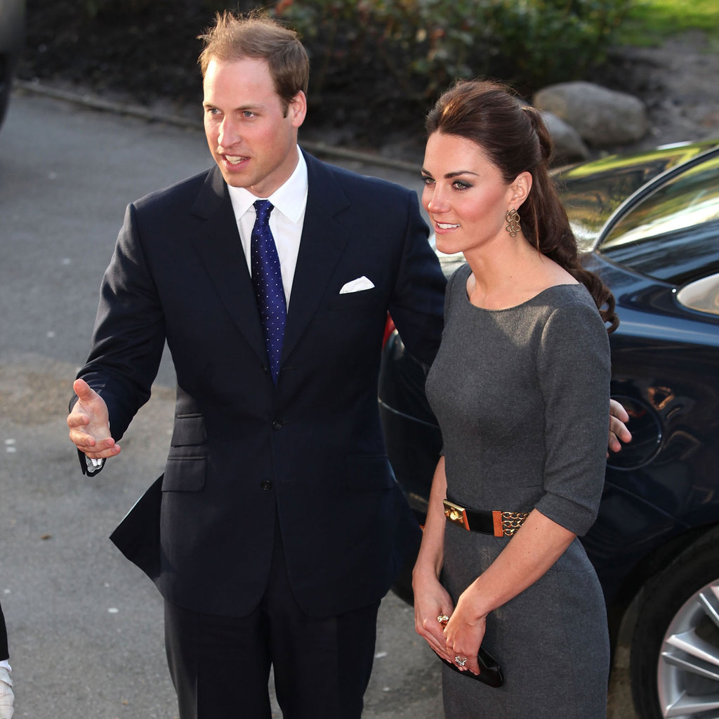 Kate Middleton and Prince William made a second royal appearance in one day.