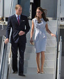 In Los Angeles, Kate wore a dress from London-based designer Roksanda Ilincic in July 2011.