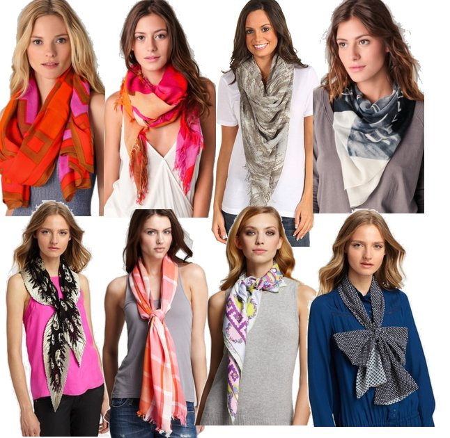 style inspiration 16 ways to wear a scarf stylebakery