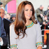 Kate Middleton's Style — How to Wear Turquoise and Grey