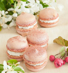 Sakura Cherry Blossom Macarons