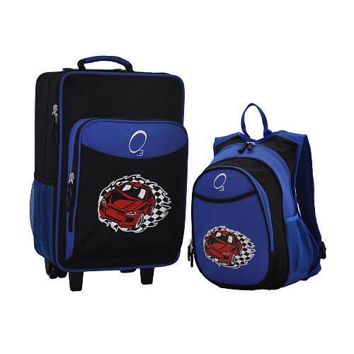 O3's Racecar Luggage and Backpack Set ($95) will have your tiny tot covered for any occasion. Each piece has plenty of pockets plus an insulated section — in other words, no separate lunchbox needed.