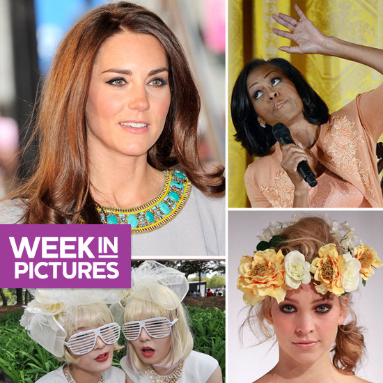 Duchess Kate Loves Cats, Girls Go Gaga in South Korea, and Michelle Obama Talks to Kids