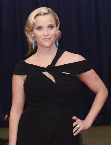 Reese Witherspoon posed while at the White House Correspondant's Dinner.