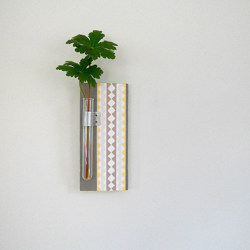 The Twig Wall Vase ($38) would add pattern pop to your wall.