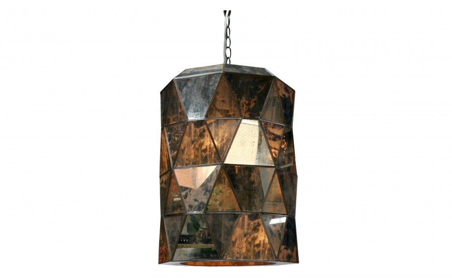 This Antiqued Mirror Lantern ($895) would be a gorgeous addition to a sophisticated farmhouse kitchen.