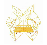 The Baltasar Portillo Geometric Chair lets geometrics show their wilder side.