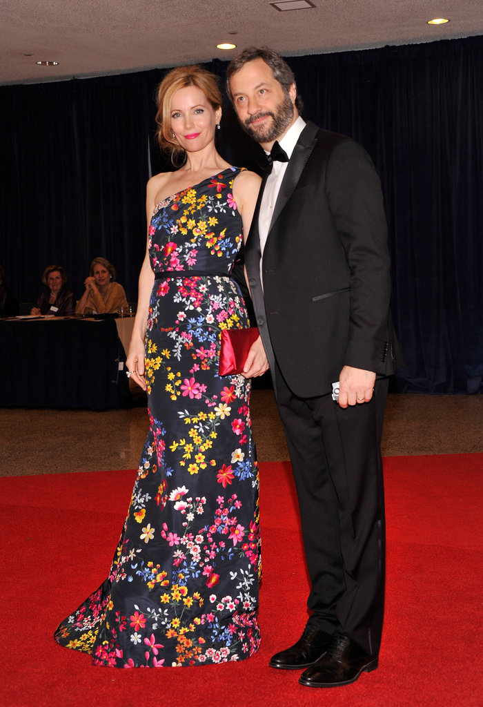 Leslie Mann and Judd Apatow made for a stunning and funny duo.