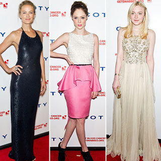 Dakota Fanning, Coco Rocha And Heidi Klum Walk The Red Carpet At DKMS