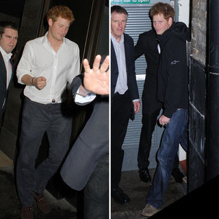 Prince Harry Partying in London Pictures