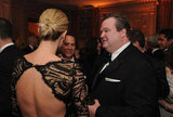 Charlize Theron and Eric Stonestreet chatted at the event.