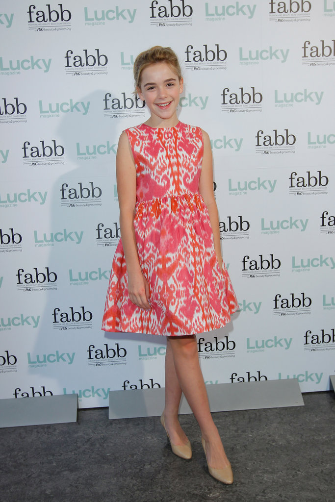 Kiernan Shipka attended a Lucky event.