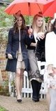 Pippa Middleton at Hannah Gillingham and Robert Carter's wedding in England.