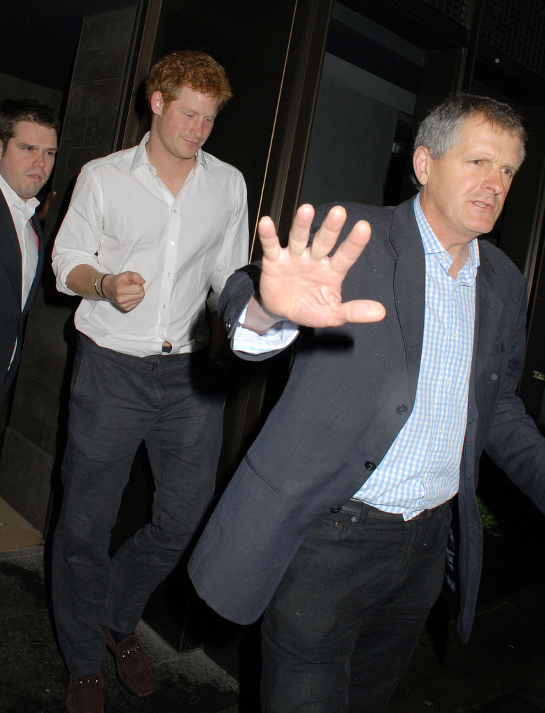 Prince Harry hit the town in London.