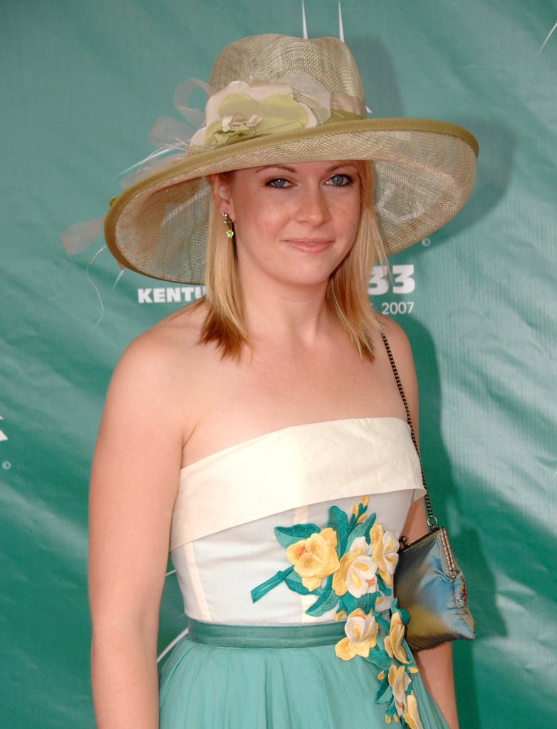 Melissa Joan Hart got floral for the 2007 races.