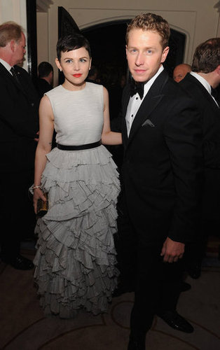 On screen lovers, Josh Dallas and Ginnifer Goodwin hung out at the White House Correspondant's Dinner.