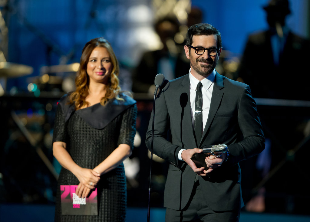 Maya Rudolph and Ty Burrell took the stage at the Comedy Awards in NYC.