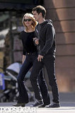 Emma Stone and Andrew Garfield were arm-in-arm for a stroll around the West Village in NYC.