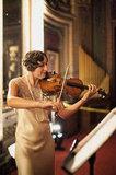 Violinist in '20s Attire