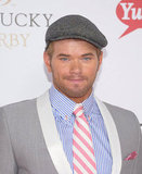 Kellan Lutz at the Kentucky Derby.