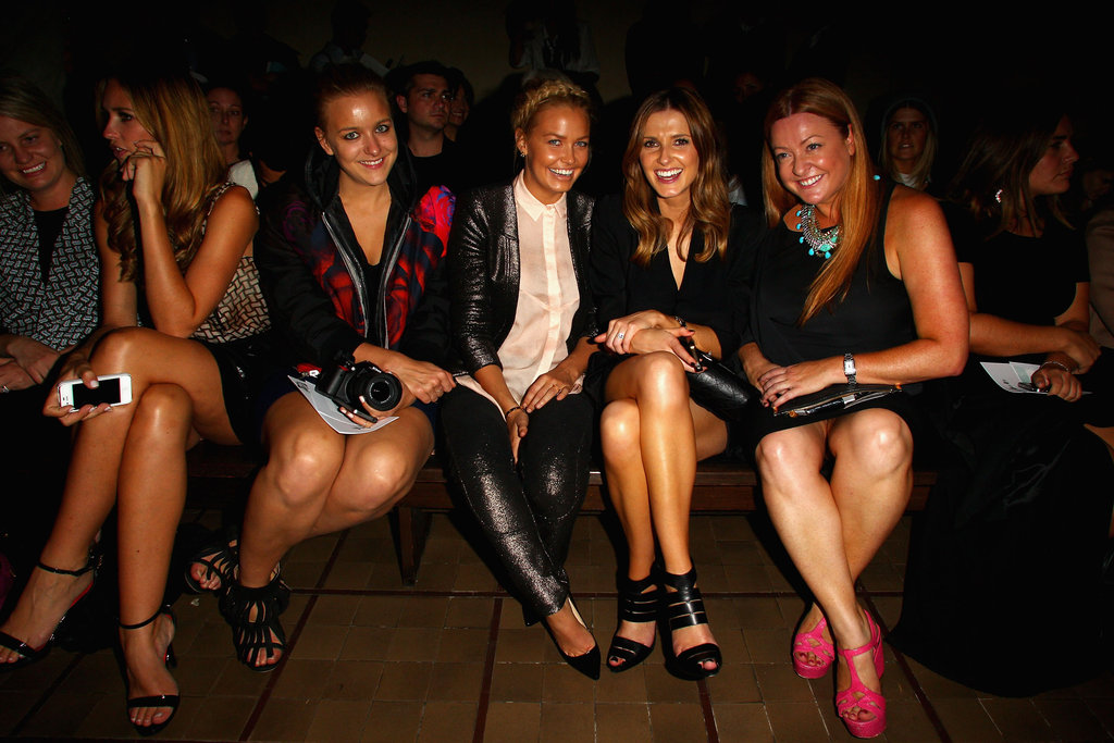 Hermione Underwood, Lara Bingle, Kate Waterhouse and Shelly Horton at Manning Cartell
