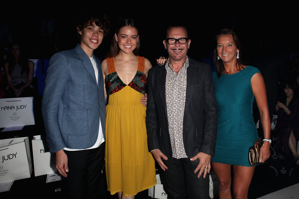 Tim Commandeur, April Rose and Kirk Pengilly, and Layne Beachley at Nana Judy