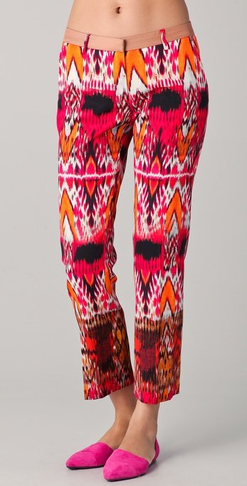 True Royal Ikat Print Pants ($423)