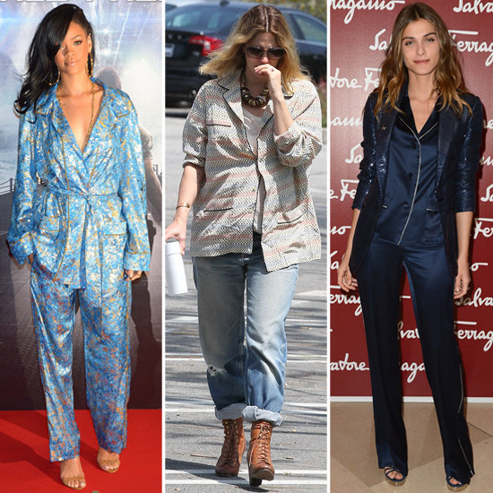 Celebs Rock the Pajama Trend — 6 Ways to Style Sleepwear Outside of Bed