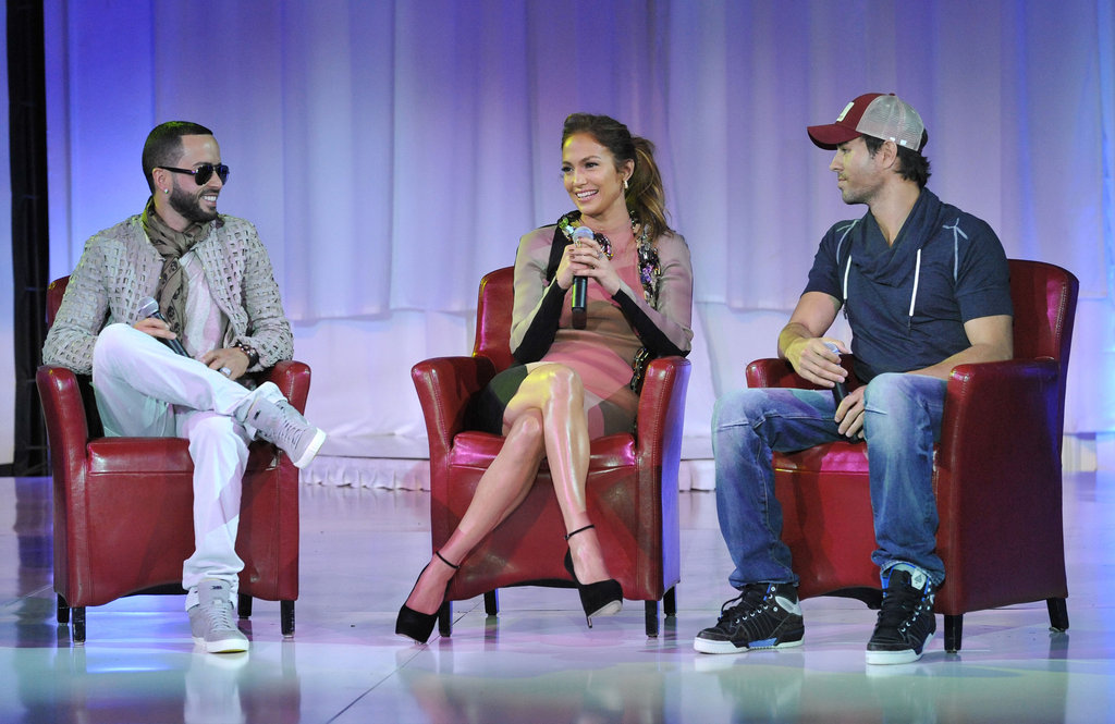 J Lo Has Casper's Support to Announce a Big Summer Tour With Enrique