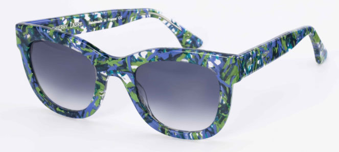 Get Eva's Sexy '50s Look: Printed Sunglasses