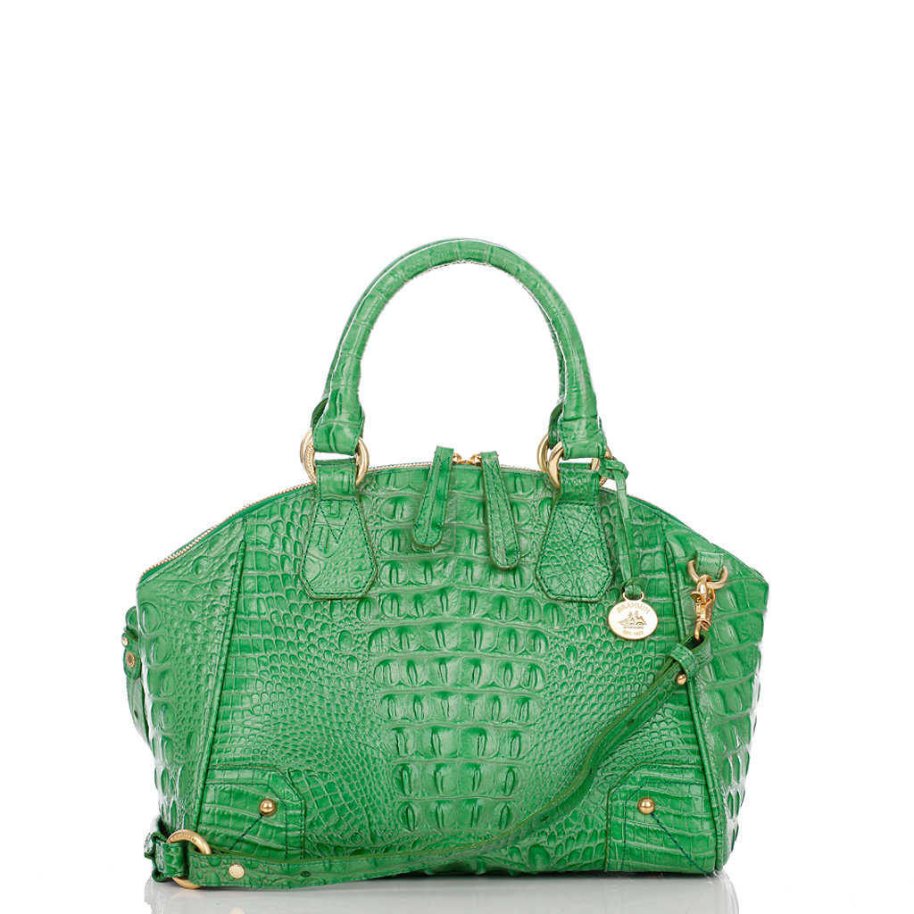 A kelly-green hue gives this sophisticated satchel a bit of Summer-perfect personality. Brahmin Tyler Satchel Bag ($335)
