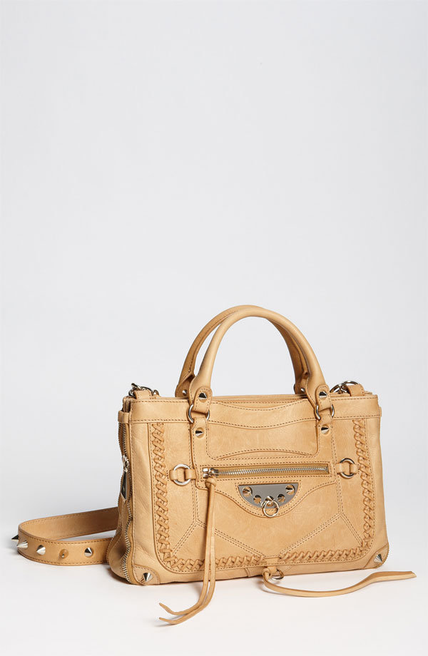 "Feathery zipper pulls and stud accents make this bohemian-inspired satchel a unique, casual-meets-sophisticated option. Sam Edelman ""Marais-Armand"" Satchel ($398)"