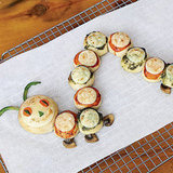 The Very Hungry Caterpillar Mini Pizzas