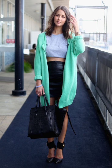 Australia Fashion Week Spring 2012 Street Style