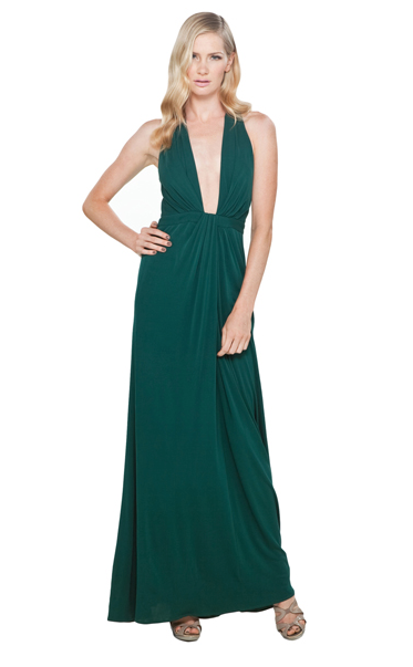 Issa Plunge Neck Halter Dress ($382, originally $682)