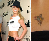 Britney Spears's first ink was a fairy on the small of her back.