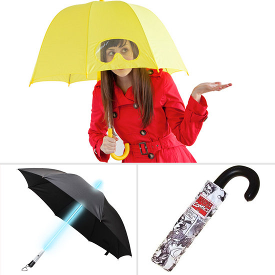 6 Geeky Umbrellas to Keep Your Head Dry