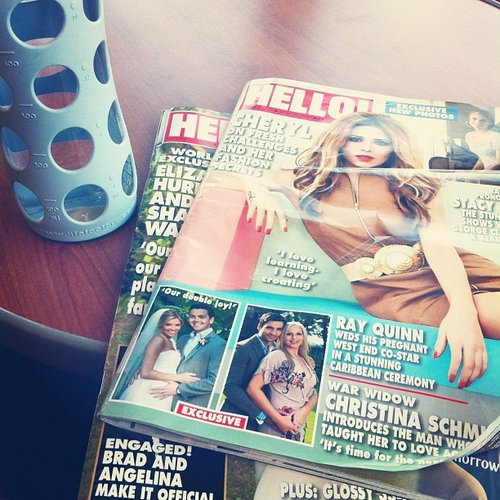 Camillaleila doubles up on her Hello! mags.