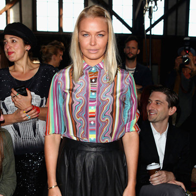 Front Row Celebrity Pictures at 2012 MBFWA Australian Fashion Week Day 1